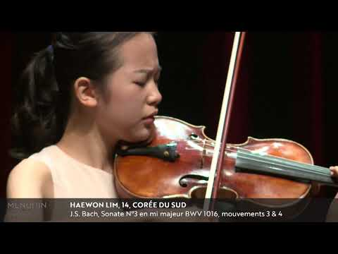 Menuhin Competition 2018 Junior first rounds - day 1