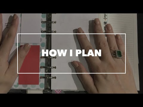 How I plan (2017) A rather long video