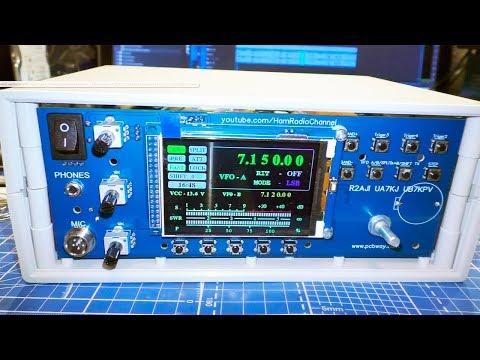 Синтезатор ATMega2560 + 3.2' TFT LCD + Si5351 для корпуса G749A