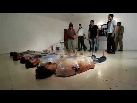 Film Scene recreation from The Attacks of 26/11