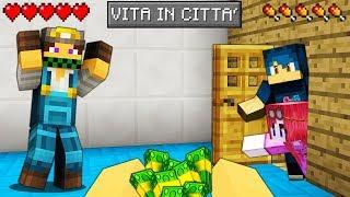 COSTRUISCO UNA CASA SBAGLIATA - VITA IN CITTA - Minecraft ITA
