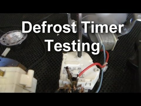 ge refrigerator not defrosting defrost timer replacement wr9x489 5 55