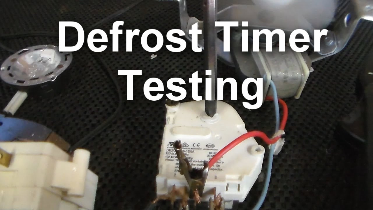 Amana Thermostat Wiring Diagram How To Test Your Defrost Timer Youtube