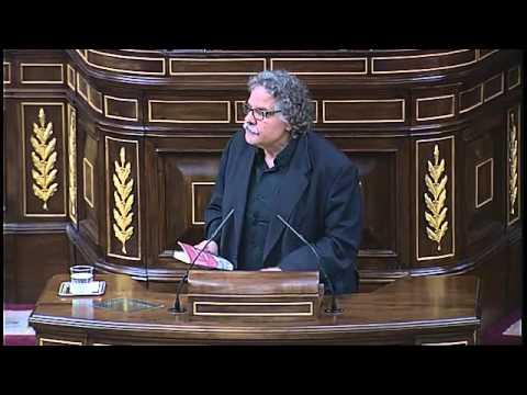 Tardà després de no poder parlar català al Congres: