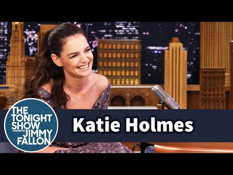 Katie Holmes Screams at Refs at Basketball Games