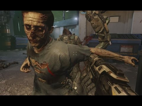 "Advanced Warfare ZOMBIES Gameplay 60fps - Call of Duty AW ""Exo Zombies"" Bonus Wave Walkthrough"