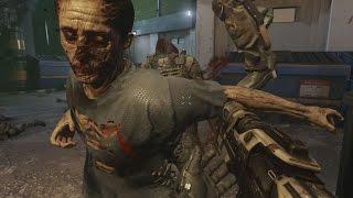 "Advanced Warfare ZOMBIES Gameplay 60fps - Call of Duty AW ""Exo Zombies"" Bonus Wave Walkthrough"