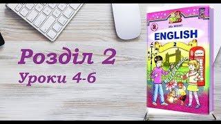 Англійська мова (2 клас) Алла Несвіт / Розділ 2 (Уроки 4-6)