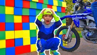 Tisha Pretend Play with toys | Hide and seek with Daddy Compilation video for kids