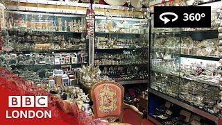 360 Video: Inside's the London Silver Vaults - BBC London