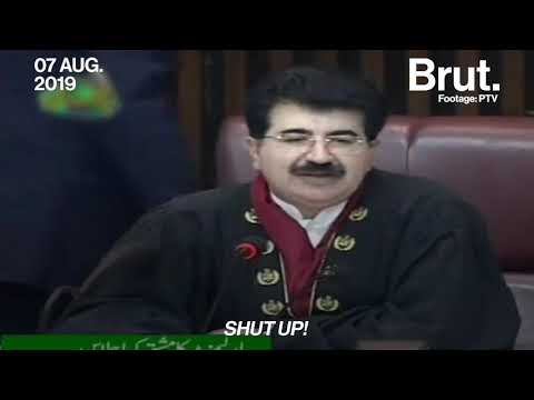 This Is How Pakistan Reacted To Article 370 In Parliament