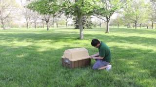Asl Solutions Dp Hunter Insulated Doghouse -  Assembly Instructions