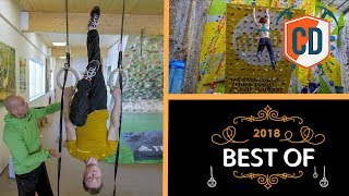 The Ultimate Climbing Training Films From 2018 | Climbing Daily Ep.1322