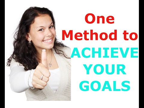 Mind Map - One Method To find and Achieve What you want from your life