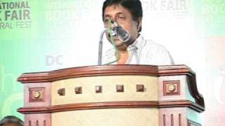 SREENIVASAN AT DC BOOKS INTERNATIONAL BOOK FAIR