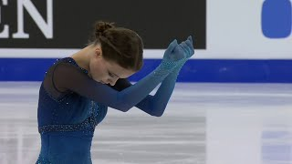 Анна Щербакова Короткая программа Женщины Чемпионат мира по фигурному катанию 2021