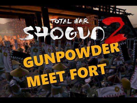 Gunpowder Meet Fort - Total War Shogun 2 |