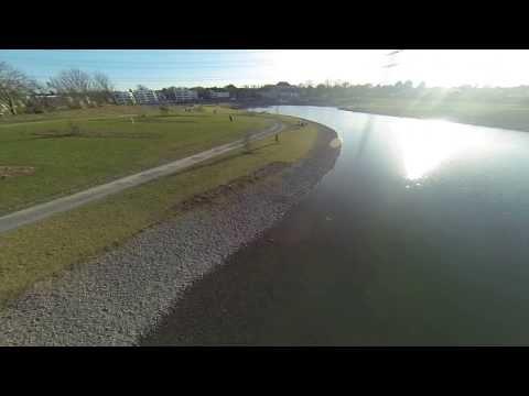 Niederfeldsee Essen-Altendorf : Überflug mit Quadcopter