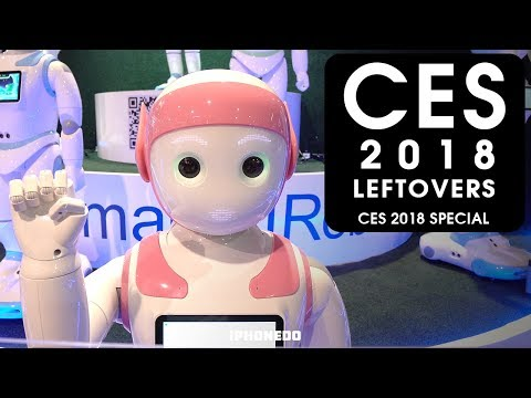 Robots, Atari Table, Blackout And More —CES 2018 Leftovers [CES 2018 Special]