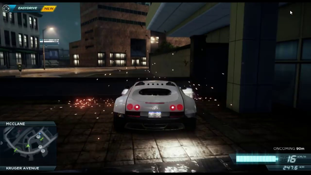 Nfs Mw 2012 Jackpot Location Bugatti Veyronfull Hd