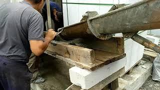 Армопояс и антресоль в доме на печи. Ч 6. Обработка древесины.
