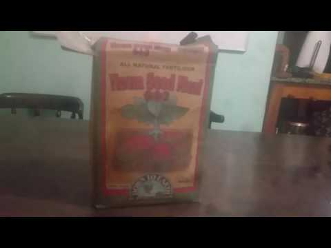 Neem seed meal and excellent soil amendment conditioner fertilizer