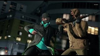 watch dogs ps4 (take  down a guy)