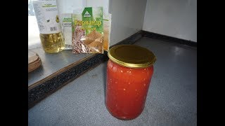 Томат из помидор  на зиму
