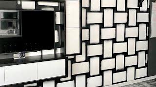 3D декор стен своими руками. Покрасить обои не под покраску. смотреть онлайн в хорошем качестве бесплатно - VIDEOOO
