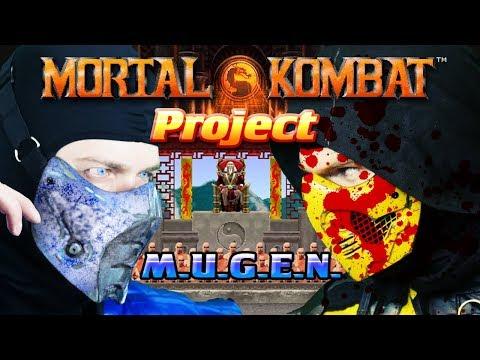 Scorpion & Sub-Zero Play - Mortal Kombat Project (MUGEN) | MKX GAMEPLAY PARODY!