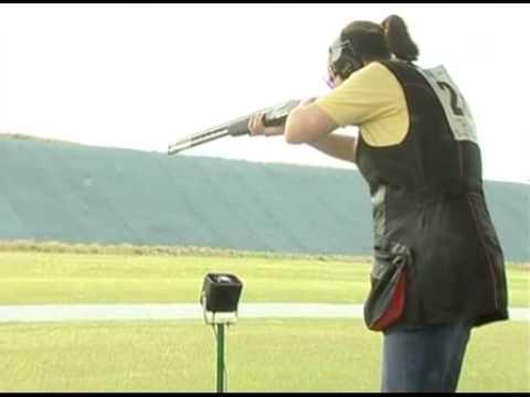 tir au fusil de chasse ball trap youtube