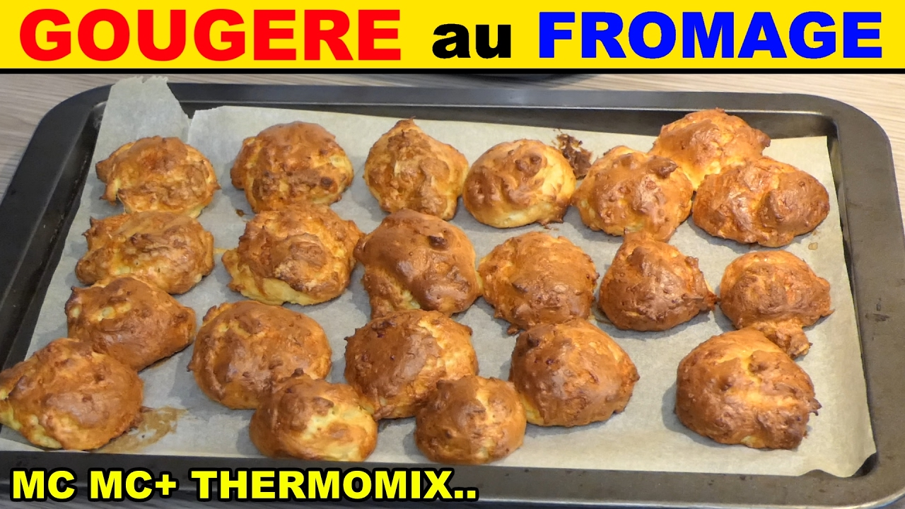 Gougere au fromage monsieur cuisine plus thermomix recette cheese queso k se youtube - Monsieur cuisine plus vs thermomix ...