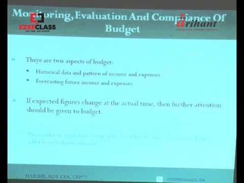 Arihant Institute Pvt Ltd Harshil Roy CFP Personal Financial statement Analysis Part-2