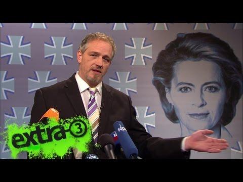 Torsten Sträter: Pressesprecher von Ursula von der Leyen | extra 3 | NDR