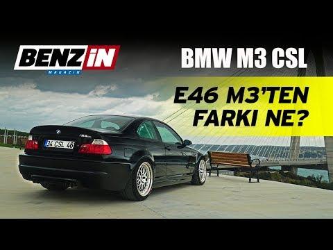 BMW E46 M3 CSL // Bir Tur Versene