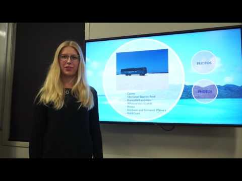 TOUR1001 Presentation- Student travel holiday