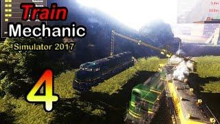 Train Mechanic Simulator 2017 ● Серия 4 - Пожар на поезде