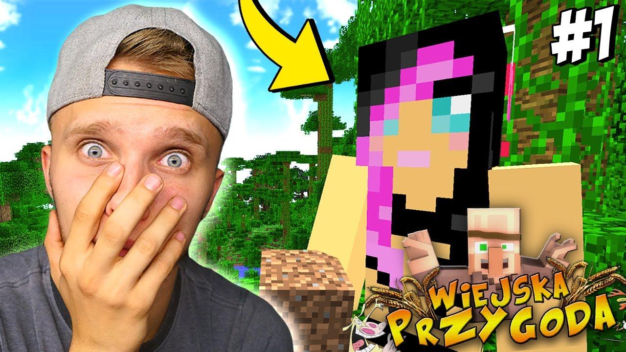 POZNAJCIE MOJĄ DZIEWCZYNĘ w Minecraft! - Wiejska Przygoda!