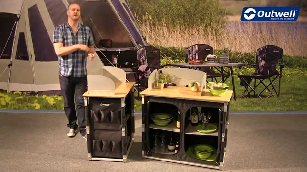 Küchenschrank Camping Outwell Padres Kitchen Table Innovative Family Camping