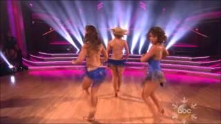Season 17 - Pros & Troupe Female Finale Opening Dance