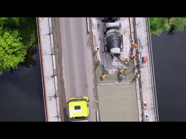 Працюємо над мостом через річку Псел на Сумщині