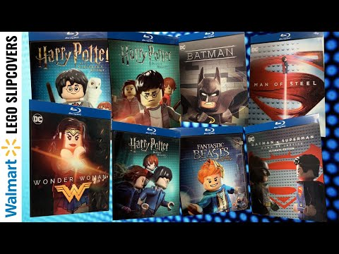 Walmart Lego Movie Lenticular Slipcover Blu Ray Haul Youtube