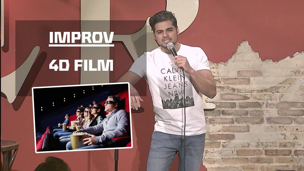 Rayen Panday - Improv Live: 4D Film