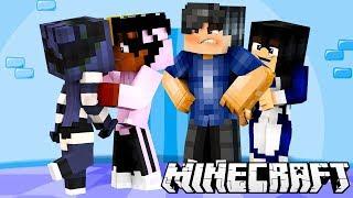 MOJA CÓRKA GO CAŁUJE!!?!   Minecraft RODZINKA   Minecraft Ekstra Szkoła   odc 2
