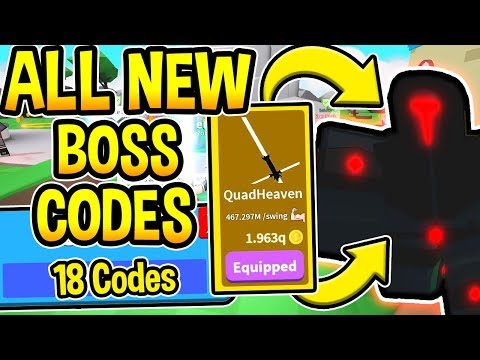 All 18 New Saber Simulator Codes Boss Update 2 Roblox Youtube