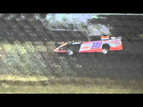 Ark La Tex Speedway ZERO Cancer Night Modified A feature part 3 4/2/16