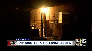 Man kills his father in Avondale Wednesday