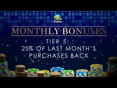 Big Fish Casino VIP Monthly Bonuses