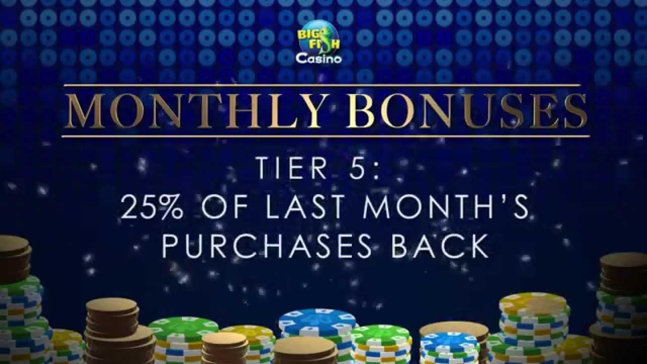 big fish casino vip bonus