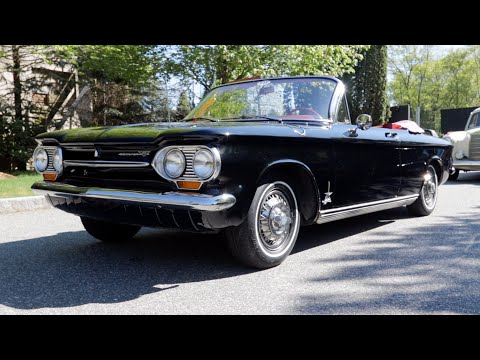 1963 Chevrolet Corvair Monza Spyder - Art of the Automobile